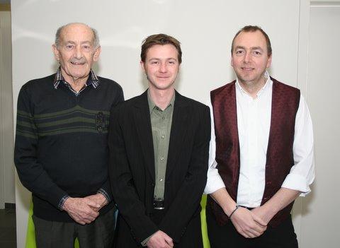 3 dirigenten Broedermin