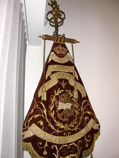 Het oude vaandel van Broedermin