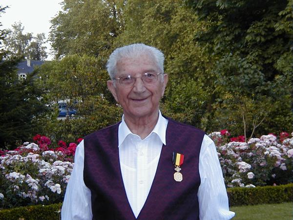 August Vandermosten - Erevoorzitter K.F. Broedermin